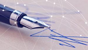 Установления факта намеренного изменения почерка