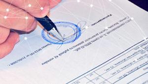 Установление исполнителя подписи/рукописной записи